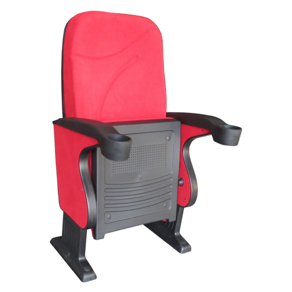BOLTON S60 – Auditorium, Cinema, Movie Theatre Chair with Integrated Polyurethane Cup Holder- Turkey – Seatorium – Public Seating Manufacturer