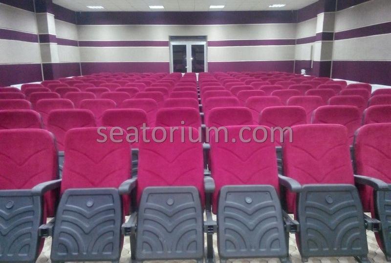 Amasra High School Auditorium Chair Installation - Seatorium™'s Auditorium