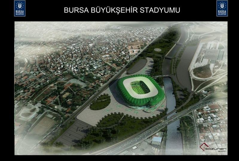 Bursa Timsah Arena Stadium Seatorium Expert At