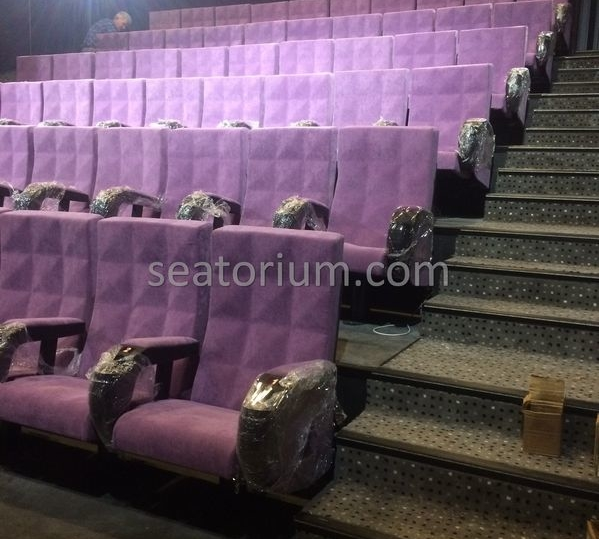 Canpark AVM Cinema & Theater Chair Installation - Seatorium™'s Auditorium