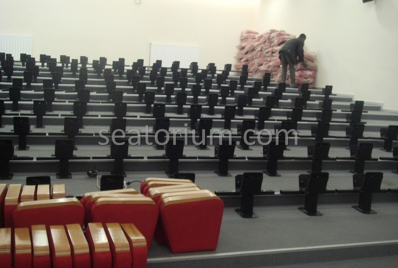 İlmi Research Center Auditorium Chairs Installation - Seatorium™'s Auditorium