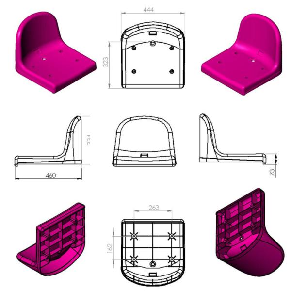 Stadium Chair The Best Epsilon